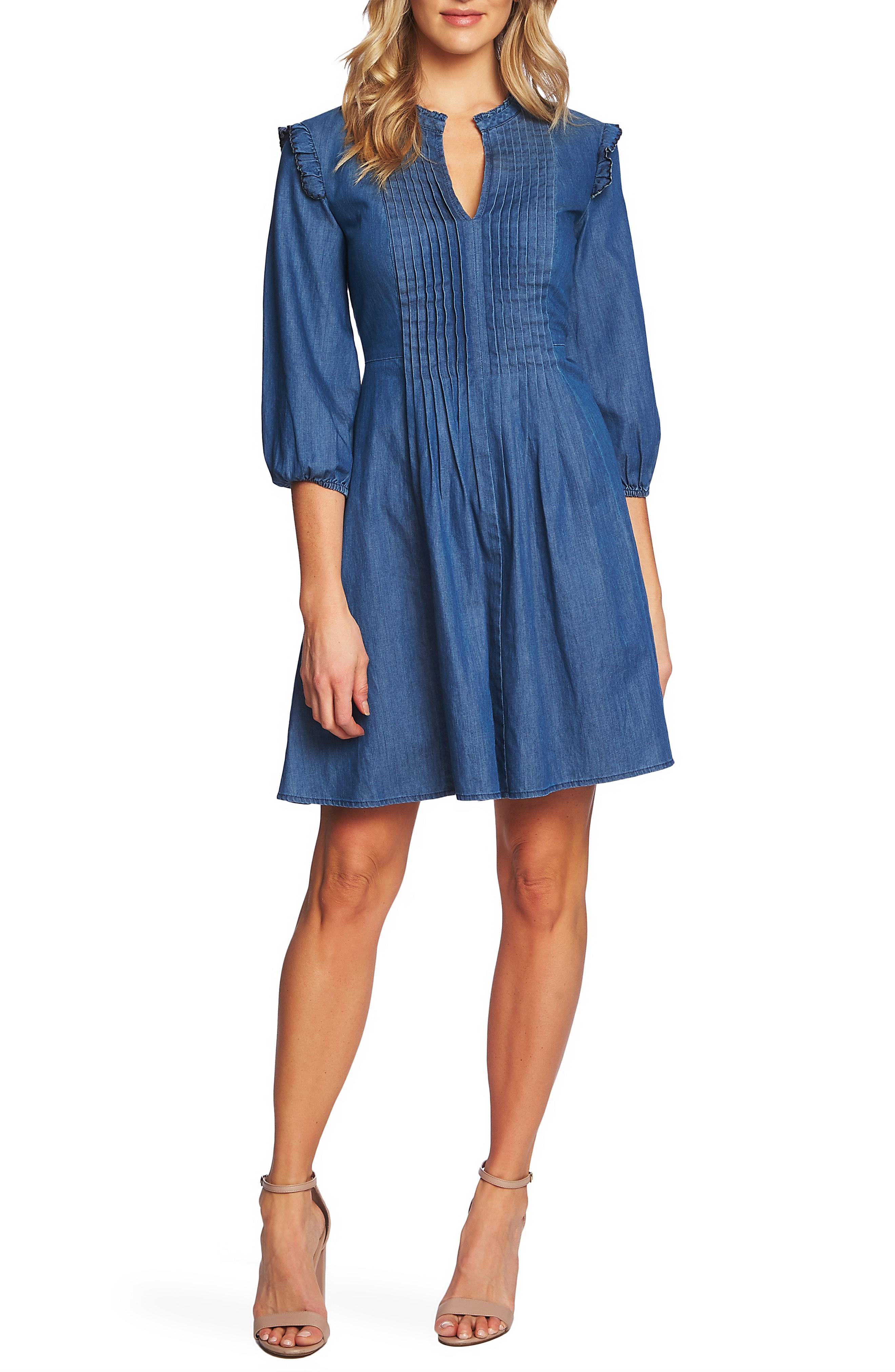 denim dresses | Nordstrom