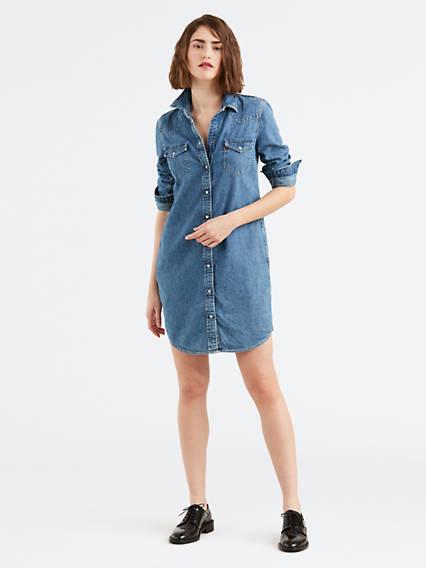 Denim Dresses & Skirts - Shop This Season's Jean Skirts | Levi's® Us