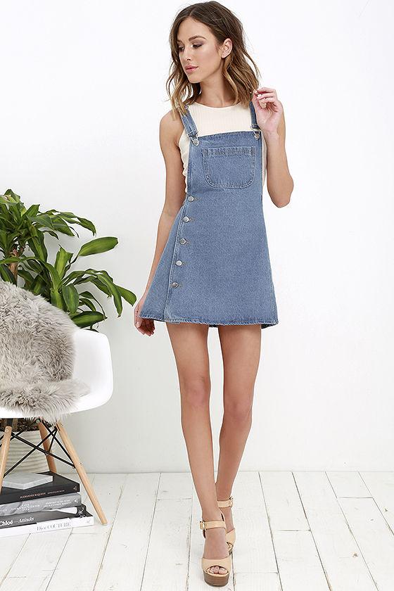 Denim dresses for the stylish   ones