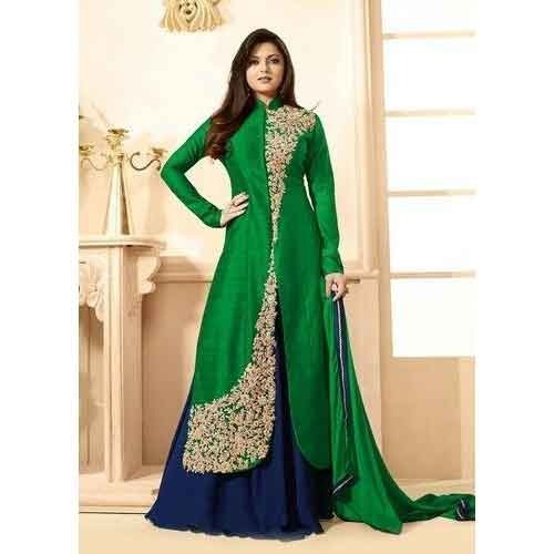 Ethnic Designer Dress, Girls ethnic wear, Ladies Ka Ethnic Pahnava