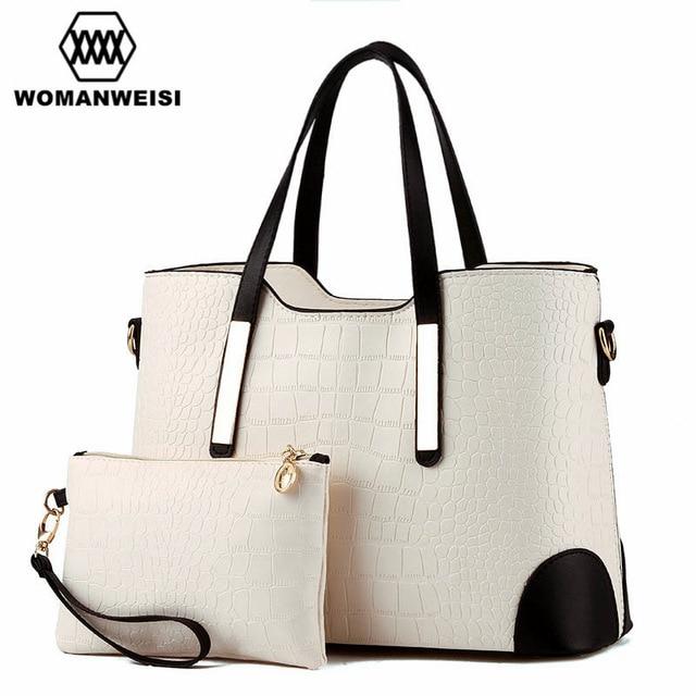 Luxury Women Bags 2018 Brand New Designer Purses And Handbags Set