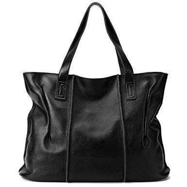 Amazon.com: CLELO Womens Soft Leather Handbags Tote Shoulder Bag