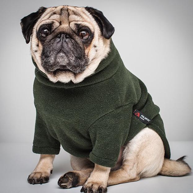 Polartec Fleece Dog Jumper - Rainproof, Breathable, Warm and