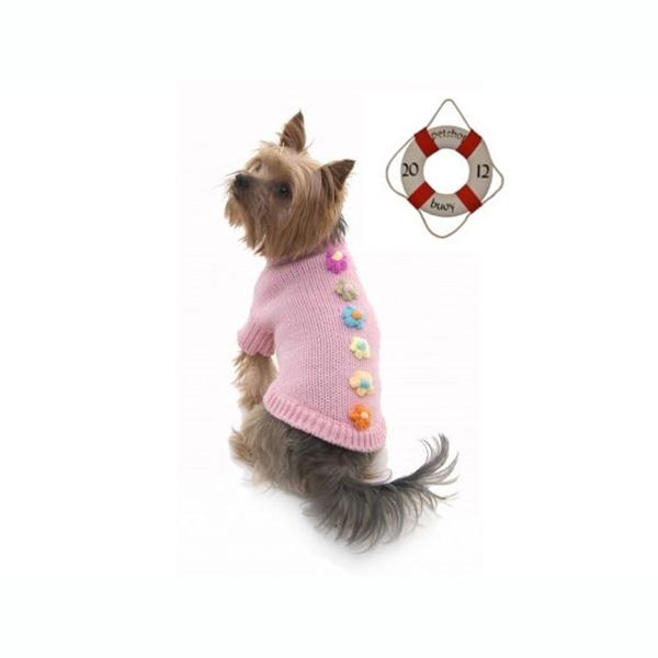 Pink Dog Jumper Pretty Petal | Pet shop buoy's
