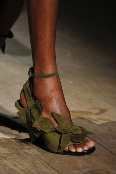 Dries Van Noten Shoes Spring 2017 At Paris Fashion Week