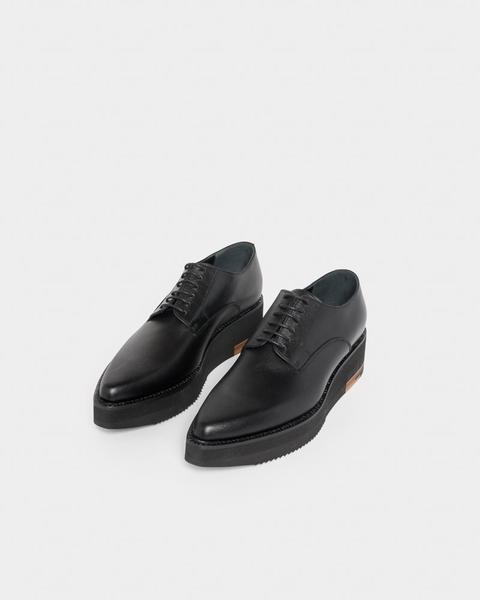 Platform Oxford Shoe in Black u2013 Mohawk General Store