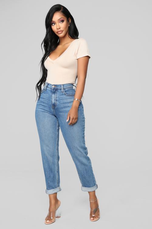 High Waisted Jeans | 2