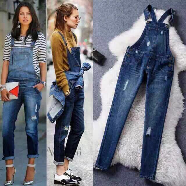 2017 Pretty Little Liars jumpsuits fashion denim hole jeans fashion