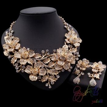 Wholesale Fashion Jewelry Dulhan Jewellery Set Choker Necklaces