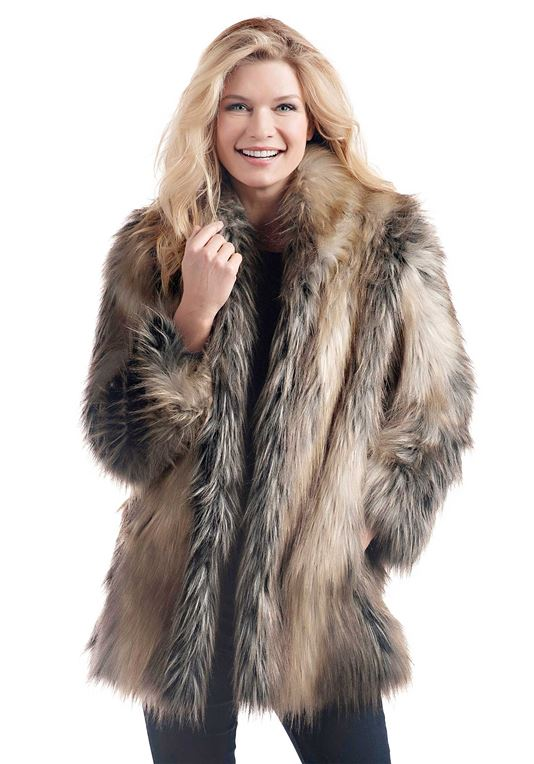 Get new style and latest   trends with faux fur jacket
