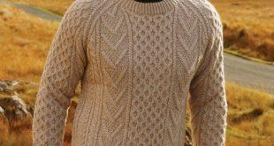 Hand knit Irish fisherman sweater | The Sweater Shop, Ireland