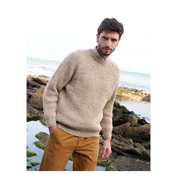 Irish Fishermans Sweater, Wool Fisherman's Sweater | Irish Central Shop