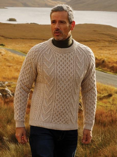 Get the trendy fisherman sweater this fall season