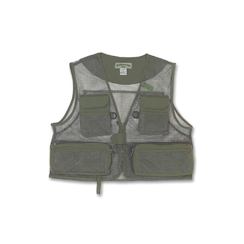 feather-craft FEATHER-CRAFT World's Lightest Mesh Fishing Vest