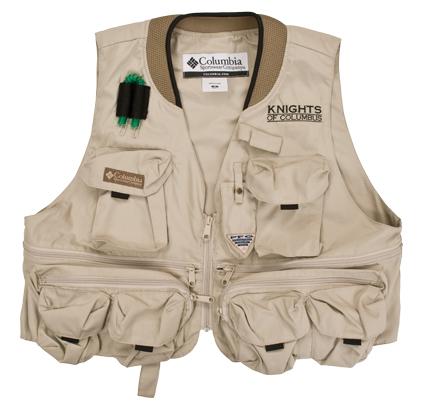 Knights Gear-Columbia® Fishing Vest