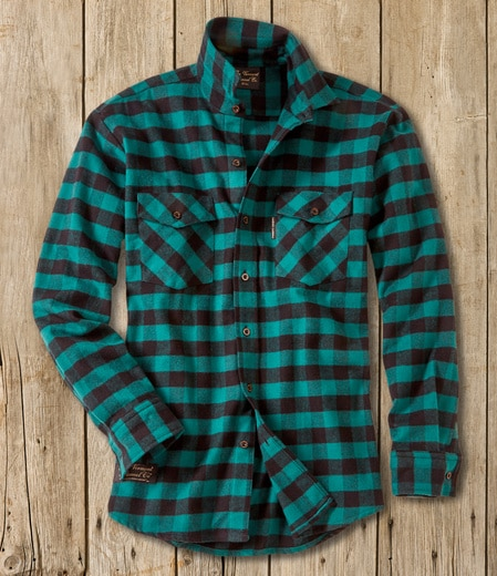 Men's Classic Flannel Shirt - Handcrafted USA - The Vermont Flannel Co.