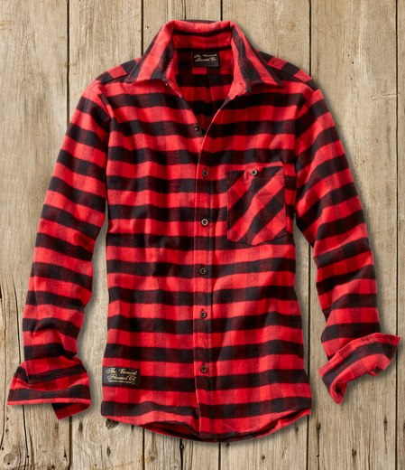 Fitted Flannel Shirt - Handcrafted USA - The Vermont Flannel Co.