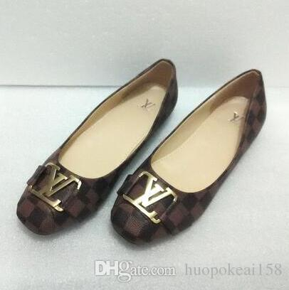 New Designer Brands Fashion Spring Women Flats Shoes Ladies Bow