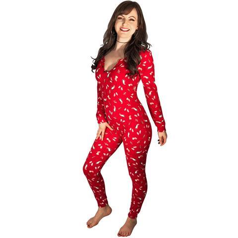 Women's Footed Pajamas u2013 Pajama City