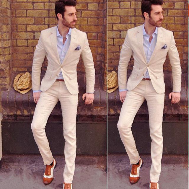 Hot Mens Slim Fit Wedding Suits Groom Tuxedos Groomsmen Formal Suit