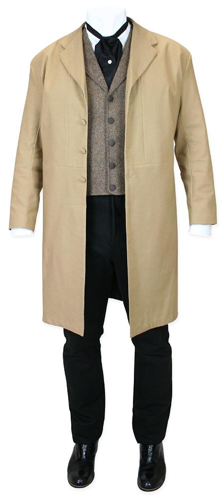 Baxter Frock Coat - Tan