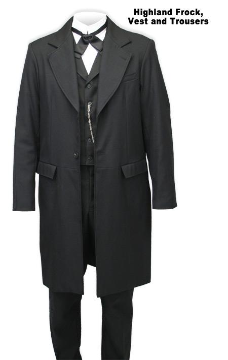 Highland Frock Coat by Wahmaker