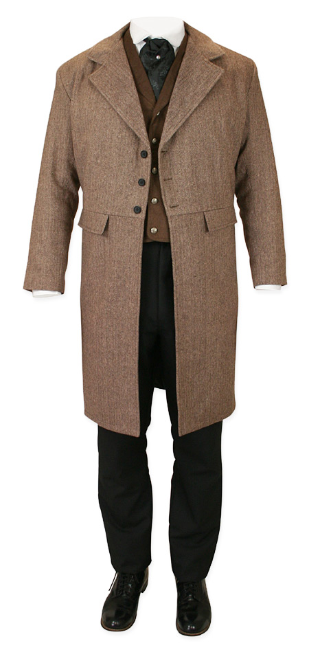 Get the designer frock coat to look stylish this fall season