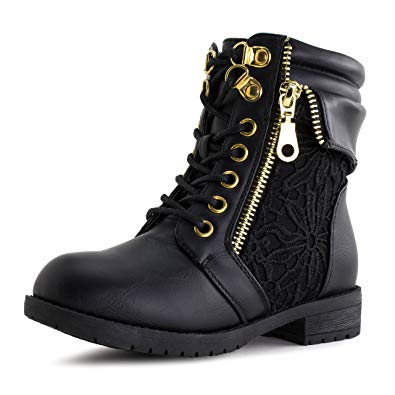 Amazon.com | Girls Lace Up Ankle Boots (Toddler/Little Kid/Big Kid