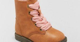 Toddler Girls' Cherish Lace Up Boots - Cat & Jack™ : Target