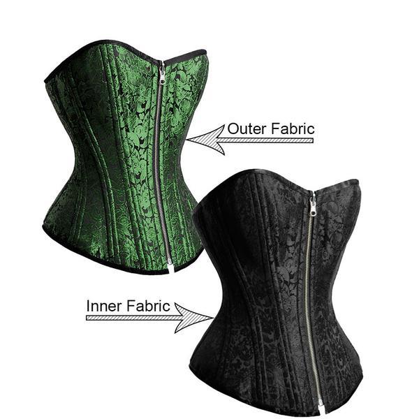 Green Corset - Green Burlesque - Green Corset Dress u2013 Corsets Queen