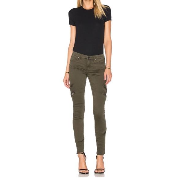Blank NYC Jeans   Army Green Zipper Skinny Jean   Poshmark
