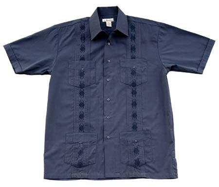 321 - Foxfire™ Men's Short Sleeve Guayabera Shirts - ET Reavis