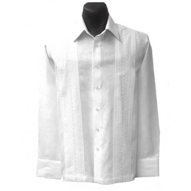 Perfect White Wedding Guayabera Shirts for Men - Elegante