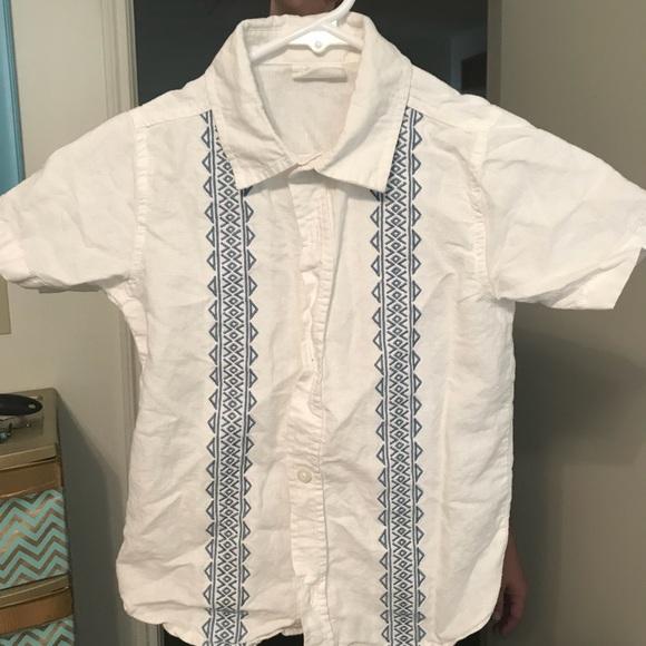 Crazy 8 Shirts & Tops | Kids Guayabera Shirt | Poshmark