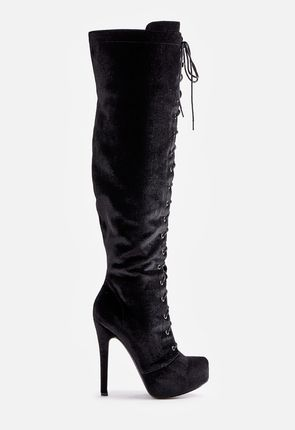 High Heel Boots - Flat, Ankle, Knee High & Over the Knee High Heeled
