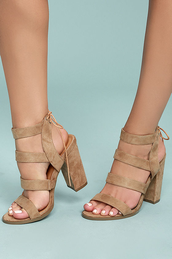 Choose the most elegant pair   of high heel sandals for party