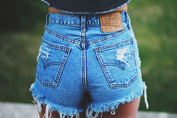 High Waisted Denim Shorts: How to Wear Them, Which Ones to Buy