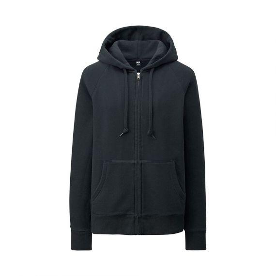 WOMEN Sweat Full-Zip Hooded Jacket - EXTRA SIZES - Featured - WOMEN