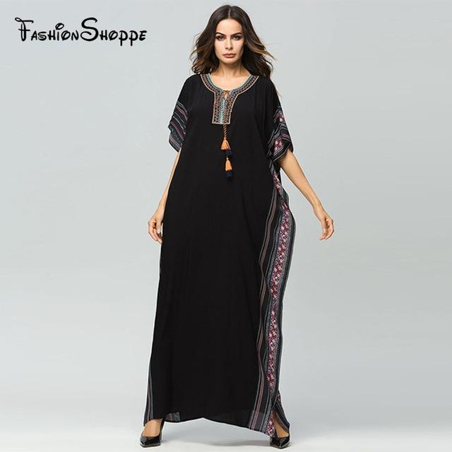 Muslim Women Abaya new arab elegant loose abaya kaftan islamic