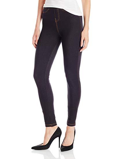 No nonsense Women's Denim Leggings With Pockets at Amazon Women's