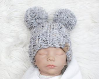 Knit baby hat | Etsy