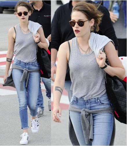 Kristen Stewart Amps Up Her Effortlessly Cool Style