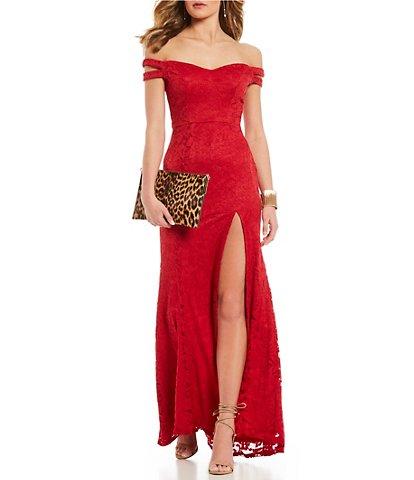 Juniors' Lace Dresses | Dillards