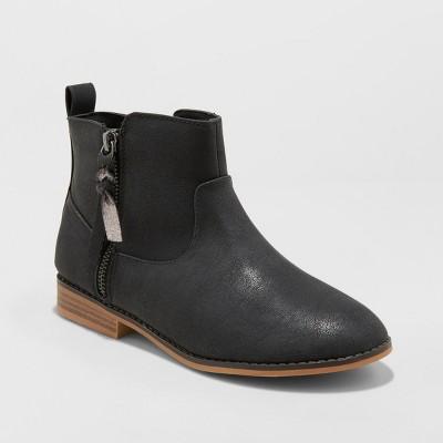Girls' Asha Western Ankle Boots - Cat & Jack™ : Target