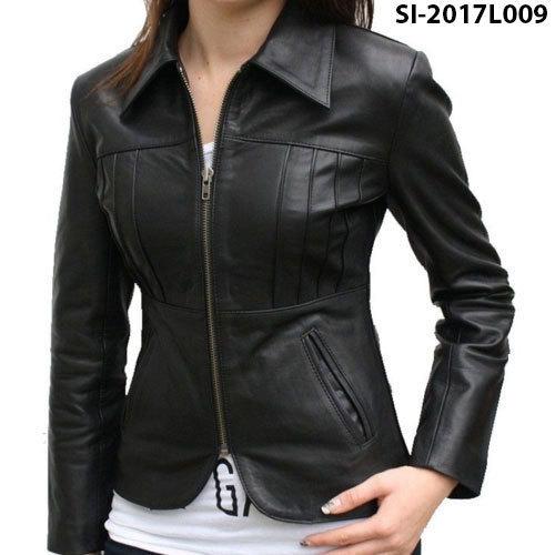 Black Ladies Jacket at Rs 900 /piece | Ladies Leather Jackets | ID