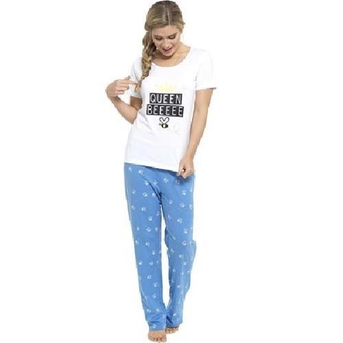 Ladies Pyjamas PJ Set Short Sleeve Nightwear Lounge Wear Pajamas