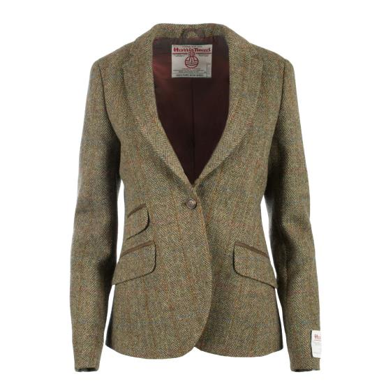 Harris Tweed Ladies Jacket - Iona