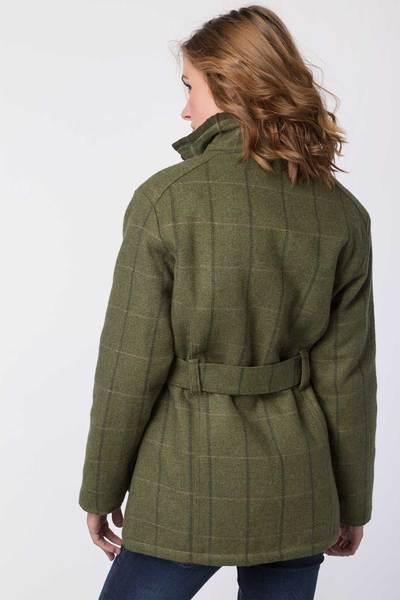 Rydale Ladies Short Tweed Belted Jacket