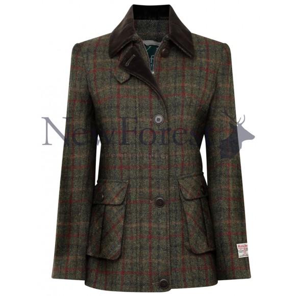 New Forest Clothing Ladies Harris Tweed Jacket