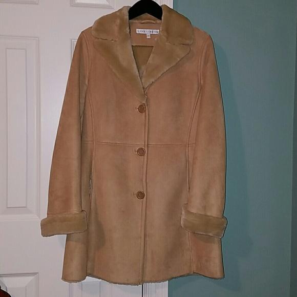 Larry Levine Jackets & Coats | Faux Shearling Coat | Poshmark